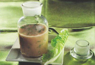 Заправка для салата (классическая) - блюдо 100 калорий - меню для похудения