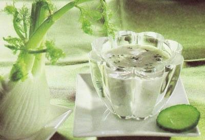 Приправа с зеленью и йогуртом - блюдо 100 калорий - меню для похудения