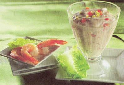Коктейль-приправа - блюдо 100 калорий - меню для похудения